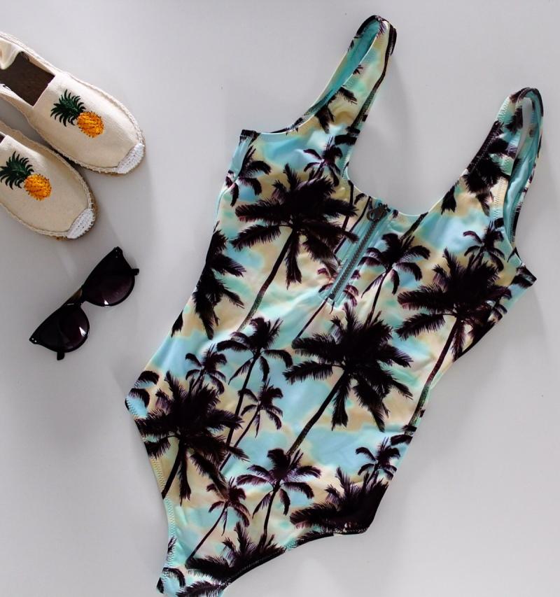 Maillot de bain palmiers H&M