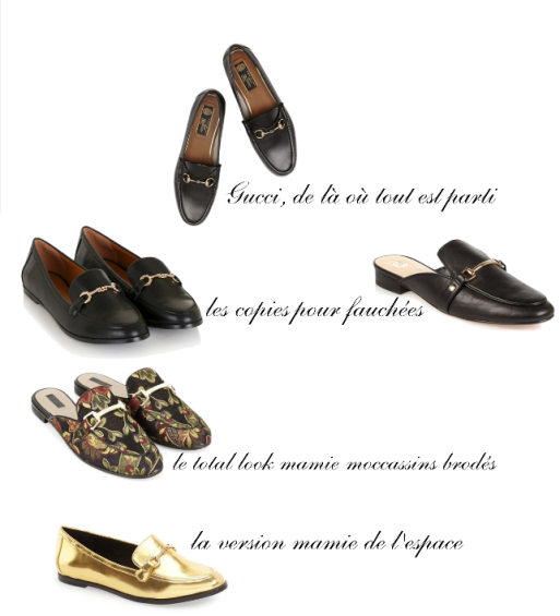 mocassins loafers gucci topshop river island