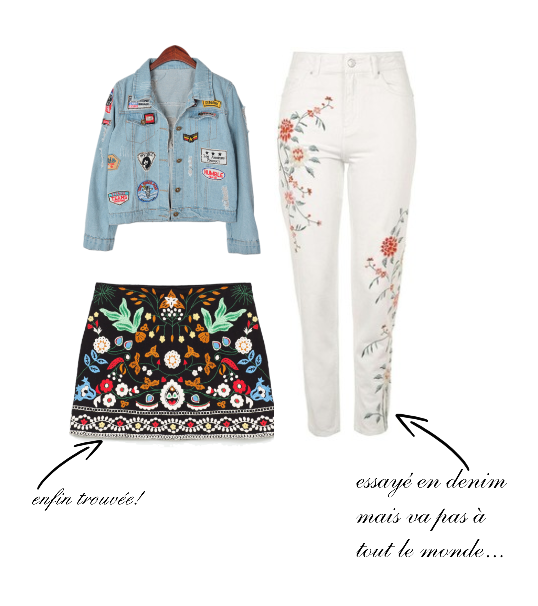 polyvore broderies embroidered