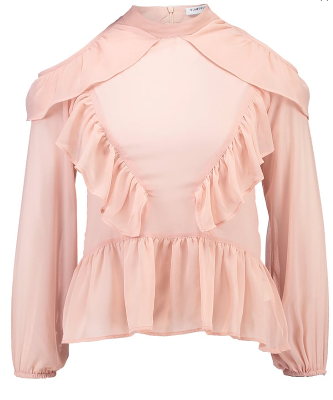 pink-blouse-glamourous