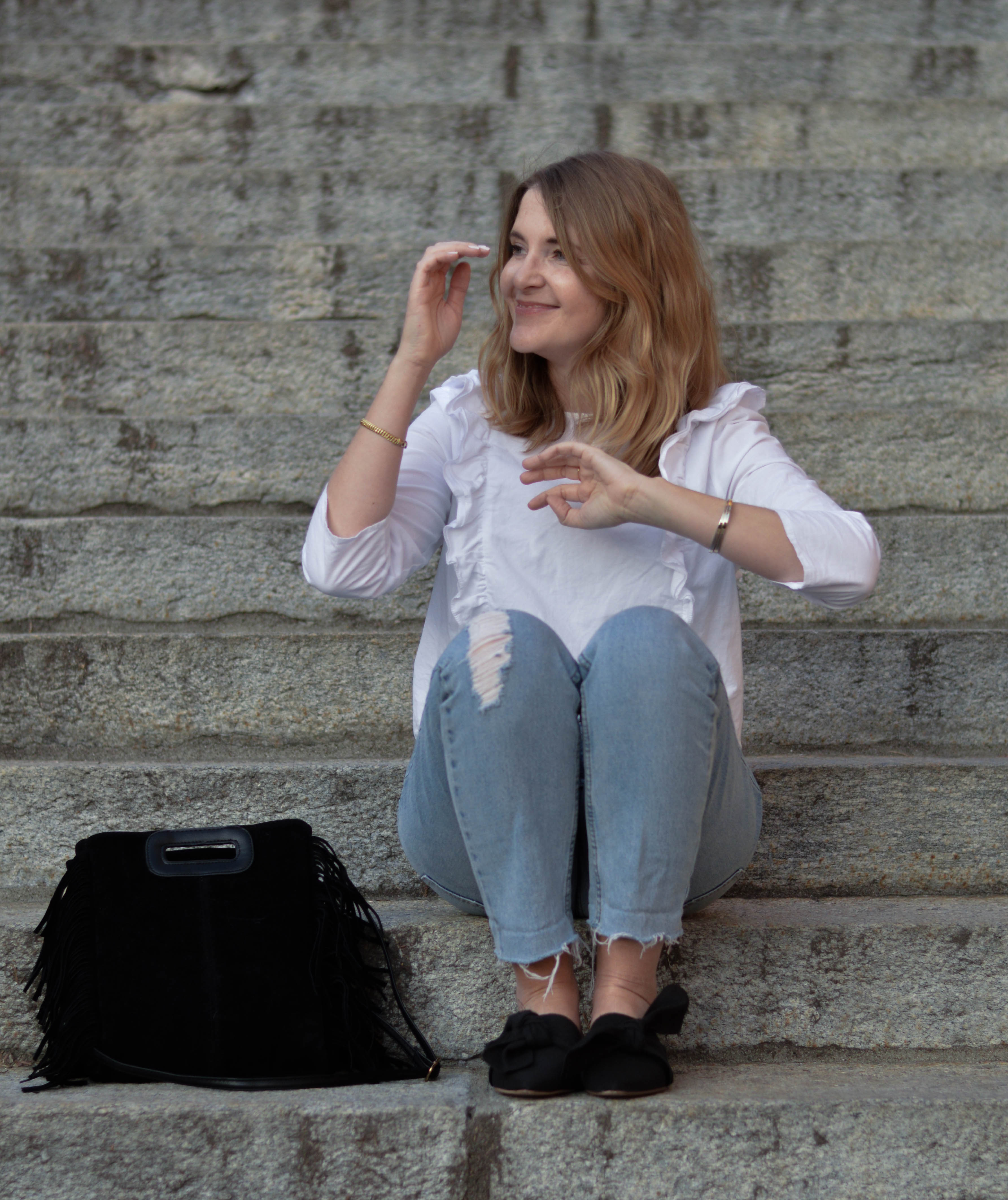 chicandswiss look mules topshop chemise volant 6