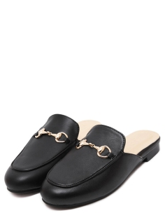 http://www.shein.com/Black-Faux-Leather-Flat-Loafer-Slippers-p-321099-cat-1881.html