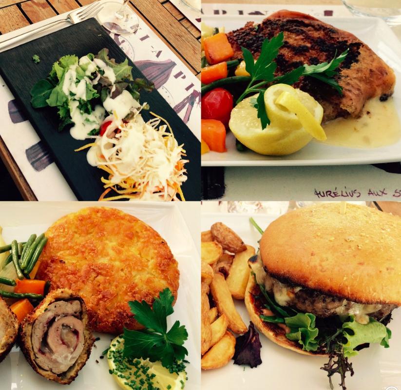manger au bord du lac à Lausanne