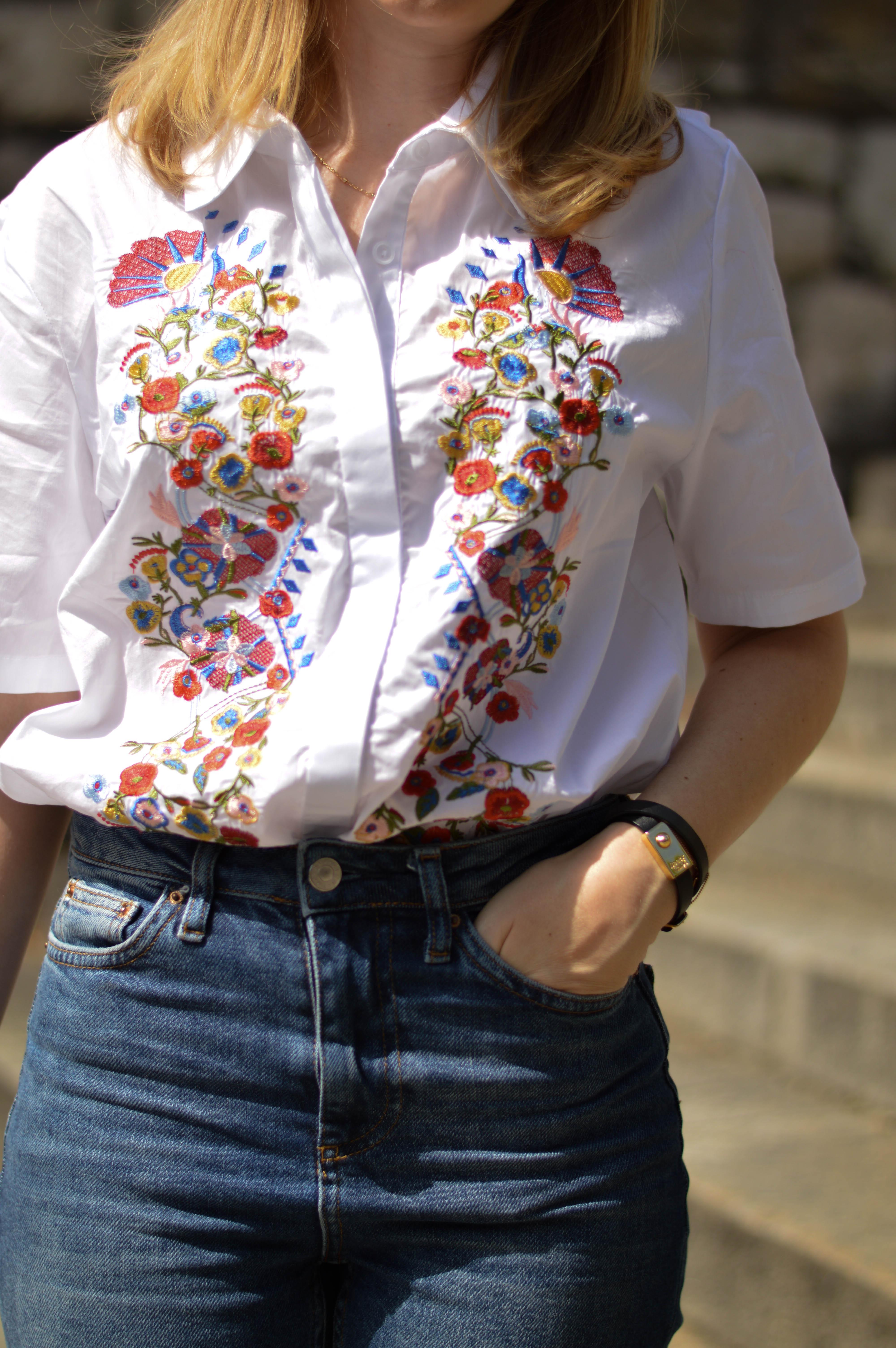 chemise brodee glamorous zalando 4