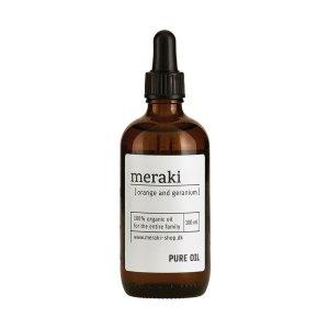 huile organique orange meraki