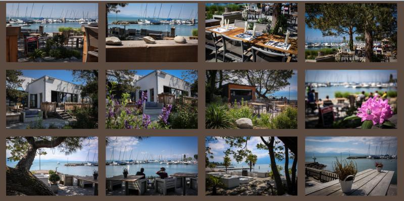 edelweiss café terrasse lausanne vidy bord du lac
