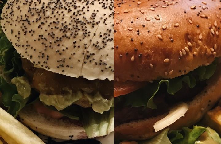 Un burger àLausanne