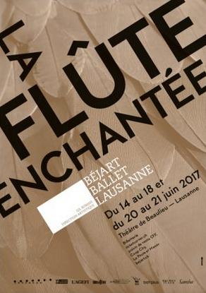 le ballet béjart présente la flûte enchantée à beaulieu en juin 2017