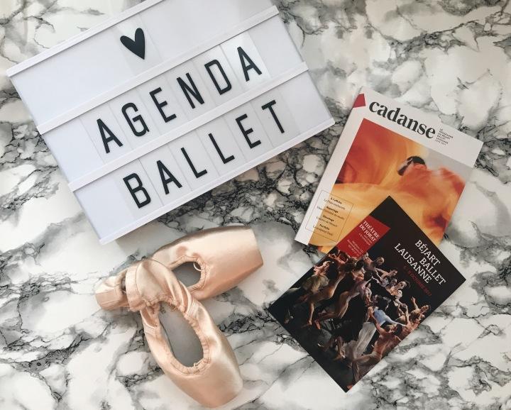 Agenda «balletistique» A/W17-18