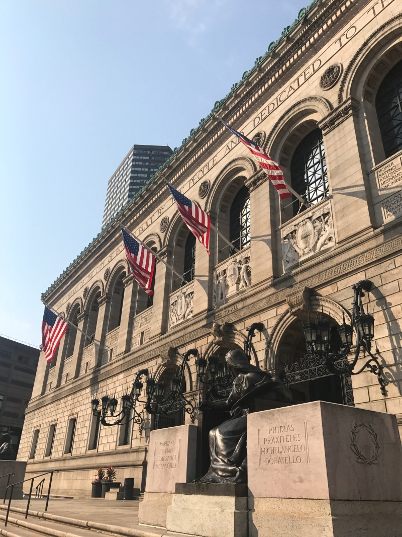 Boston-public library