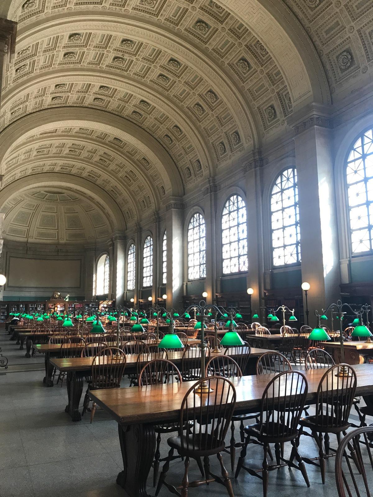 Boston-public library